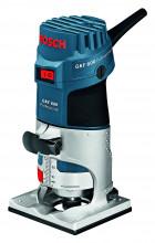Bosch Profesionálna súprava: hranová fréza GKF 600 + súprava príslušenstva, vkufri