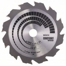Bosch Pílový kotúč Construct Wood