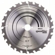 Bosch Pílový kotúč Speedline Wood