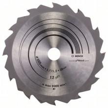 BOSCH Pilový kotouč Speedline Wood - 165 x 20/16 x 1,7 mm, 24
