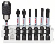 Bosch Zestaw bitów Impact Control do wkrętarek, 7 szt., 1 x PH2; 1 x PZ2; 1 x T15; 1 x T20; 1 x T25; 1 x T30