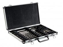 """Metabo Zestaw wierteł i dłut SDS-plus """"SP"""", 17 części, w walizce aluminiowej (628414000)"""
