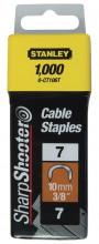 STANLEY 10mm spony kabelové 7CT100 1000ks