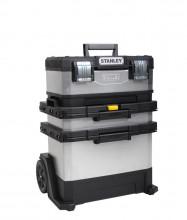 STANLEY Kovoplastový montážní box - galvanizovaný