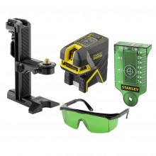 STANLEY® FATMAX® 2bodový laser s projekcí kříže - zelený paprsek