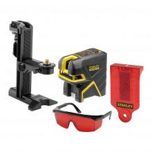 STANLEY® FATMAX® 5bodový laser s projekcí kříže - červený paprsek