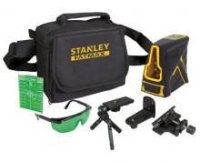 STANLEY® FATMAX® křížový laser - zelený paprsek