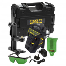 STANLEY®  FATMAX® X3G linkový laser 3 x 360° - zelený paprsek