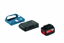 Bosch Starter Kit Wireless Charging GBA 18V 1x 4.0Ah MW-C + GAL 1830 W + frame