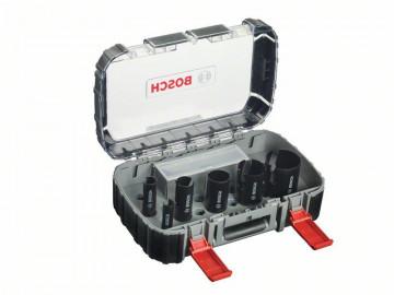 Bosch 10dílná sada děrovek Set Multi Construction pro instalatéry 20. 25. 32. 38. 51. 64 mm