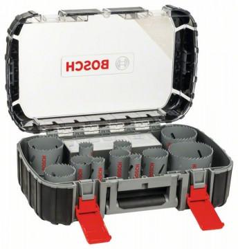 Bosch 17dílná sada univerzálních děrovek HSS BIM 20. 22. 25. 32. 35. 40. 44. 51. 60.