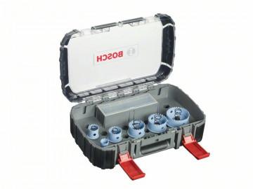 Bosch 9dílná sada děrovek Sheet Metal pro elektrikáře 22. 29. 35. 44. 51. 64 mm