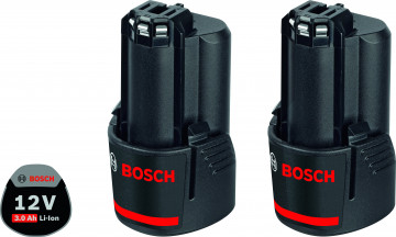 Akumulátor BOSCH 2x GBA 12V 3,0Ah Professional…