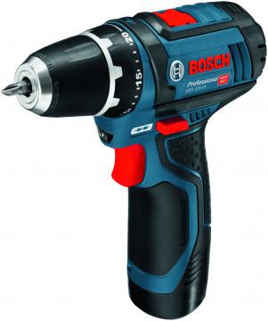 Vrtací šroubovák BOSCH GSR 12V-15 (bez akumulátoru a nabíječky) Professional 0601868101