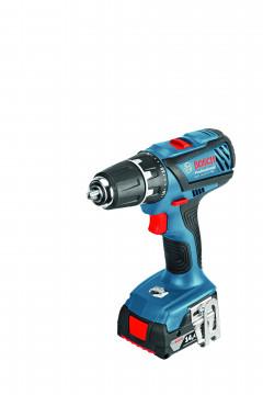 Vrtací šroubovák, LS BOSCH GSR 14,4-2-LI Plus (bez akumulátoru a nabíječky) Professional 06019E6002