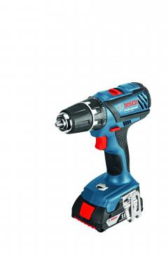 Akumulátorové vŕtacie skrutkovače Bosch GSR 18-2-LI Plus (bez aku) 06019E6102