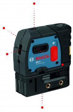 5bodový stavební laser BOSCH GPL 5 Professional 0601066200