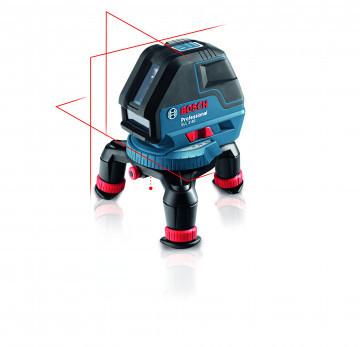 Bosch Křížový laser + univerzální držák (nový) + L-Boxx 136 BOSCH GLL 3-50 Pro. + BM 1