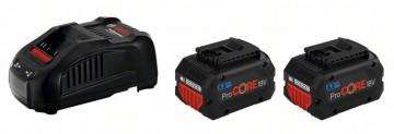 Bosch Startovací sada 2 x ProCORE18V 5.5Ah + GAL…