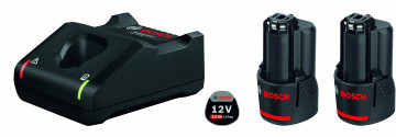 Startovací sada Bosch 2× GBA 12V 2.0Ah + GAL 12V…