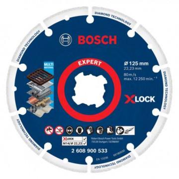 Bosch X-LOCK diamantový kotouč na kov 125 x 22,23…