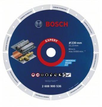 Bosch Diamantový kotouč na kov 230 x 22,23 mm…