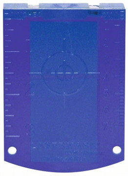 Cílová destička Bosch Cílová destička laseru (modrá) Professional