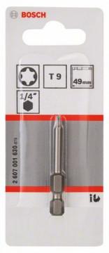 Šroubovací bit zvlášť tvrdý Extra-Hart T8, 25 mm BOSCH 2607001601
