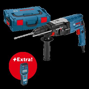 Bosch Vŕtacie kladivo GBH 2-28 F s SDS-plus + detektor GMS 100 M vL-BOXXu 061126760A