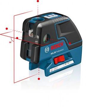 Kombi laser + stativ + L-Boxx vložka BOSCH GCL 25 + BT 150 Professional 0601066B01