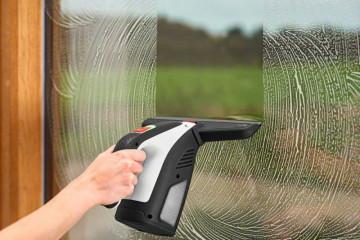 Bosch Aku stěrka na okna s nádobkou GlassVAC 06008B7200