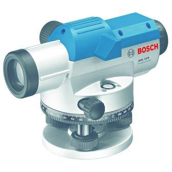 Optický nivelační přístroj + stativ + měřicí lať BOSCH GOL 32 D Professional + BT 160 + GR 500 06159940AX