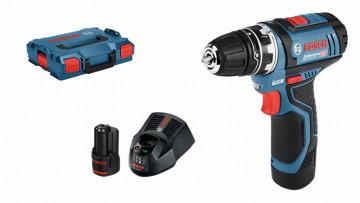 Akumulátorové vŕtacie skrutkovače Bosch GSR 12V…