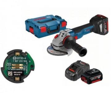 Akumulátorová úhlová bruska Bosch GWS 18V-10 SC