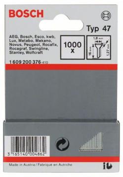 Hřebíčky, typ 47 1,8 x 1,27 x 16 mm BOSCH 1609200376