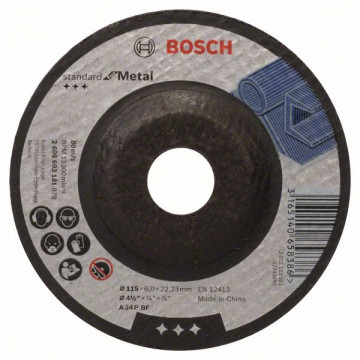 Hrubovací kotouč profilovaný Standard for Metal -…