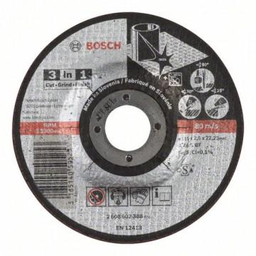 Dělicí kotouč 3 v 1 - A 46 S BF, 125 mm, 2,5 mm…