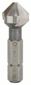"""Kuželovitý záhlubník 12,4 mm, M 6, 35 mm, 1/4"""" BOSCH 2608596407"""