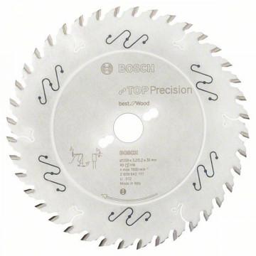 Pilový kotouč do okružních pil Top Precision Best for Wood 250 x 30 x 3,2 mm, 40 BOSCH 2608642111