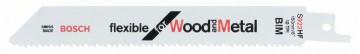 Pilový plátek do pily ocasky S 922 HF Flexible for Wood and Metal BOSCH 2608656039