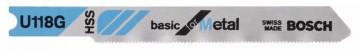 Pilový plátek do kmitací pily U 118 B - Basic for…