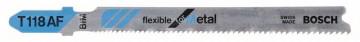 Pilový plátek do kmitací pily T 118 AF Flexible for Metal BOSCH 2608634694