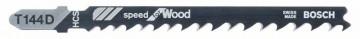 Pilový plátek do kmitací pily T 144 D Speed for Wood BOSCH 2608630560
