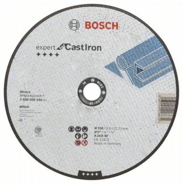 Dělicí kotouč rovný Expert for Cast Iron AS 24 R BF, 230 mm, 3,0 mm BOSCH 2608600546