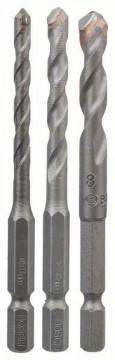 3dílná sada vrtáků na dlaždice HEX-9 Ceramic 5; 6; 8 mm BOSCH 2608589527