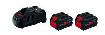 Bosch Startovací sada: 2× ProCORE18V 8.0Ah + 1×…