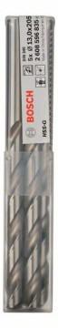 Vrtáky do kovu HSS-G, DIN 340 - 13 x 134 x 205 mm BOSCH 2608596835