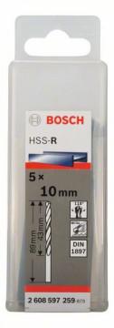 Vrtáky na karoserie HSS-R, DIN 1897 - 6,5 x 31 x 70 mm BOSCH 2608597252