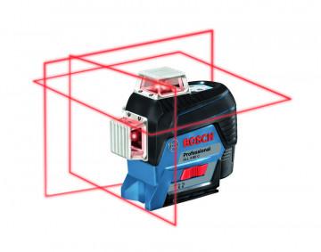 Křížový laser + stativ BOSCH GLL 3-80 C + BT 150 …