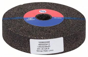 BOSCH Brúsny kotúč pre priame brúsky, 125 mm, 20…